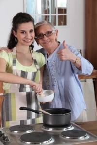 senior services to help with meal preparation